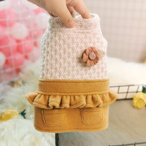 Image 5 - New Princess Small Dog Dresses Coat Autumn Cat Skirt Clothes Tutu Dress For Dogs Puppy Teddy chihuahua XS S M L XL