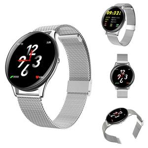 Image 3 - Epopoos smart watch 2020強化ガラスタッチスクリーンフィットネススマートウォッチIP68防水心拍数血圧smart watch es
