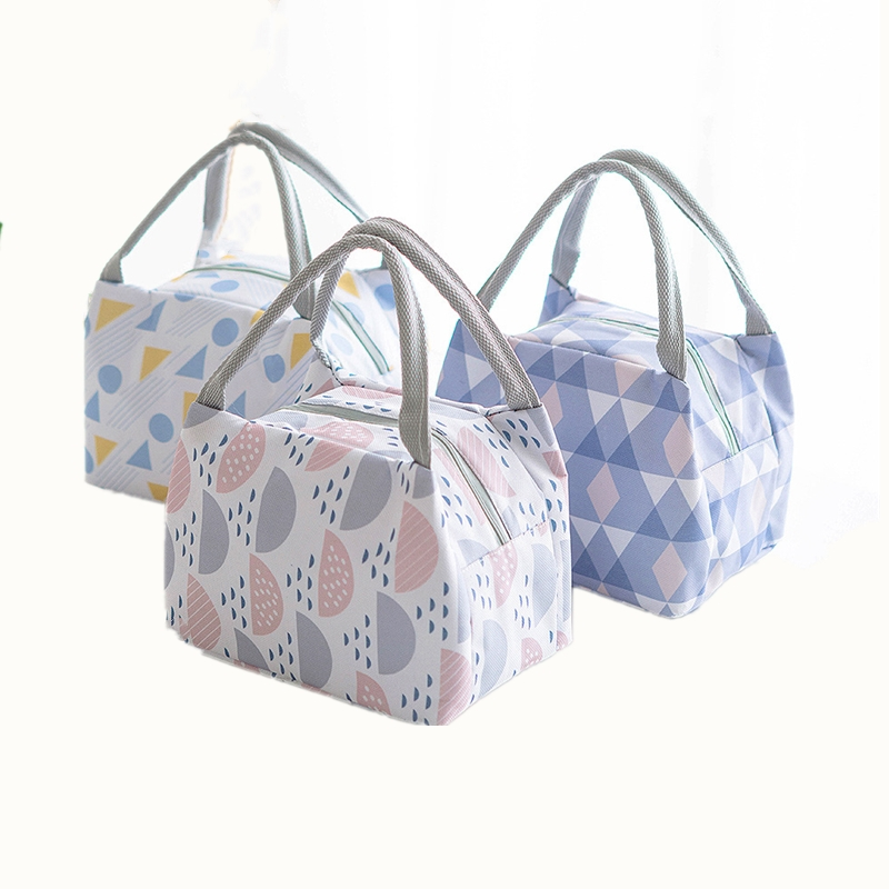 2018 Lunch Bag Insulated Thermal Cooler Picnic Food Container Tote Lunch Box Bag For Women Kids Student Girl Men Storage Bags
