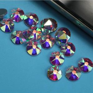 Новый 2088 AAAAA 16 граней Класс ss10 ss16 SS20 SS30 кристалл AB Стразы с прямой основой Стразы Стекло с украшением в виде кристаллов одежды гладить на стра...
