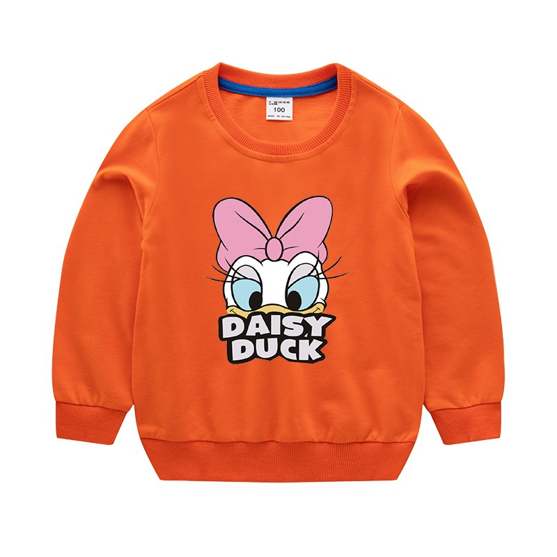 Girls Sweatshirts spring and autumn new baby long-sleeved 100% cotton o-neck sweater children clothes girl sweater kid tops 5