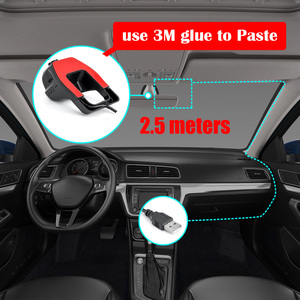 Image 4 - Car DVR dash Camera SUB dvr camera GPS Player Digital Video Night Vision HD 720P Registrator Recorder For Android System