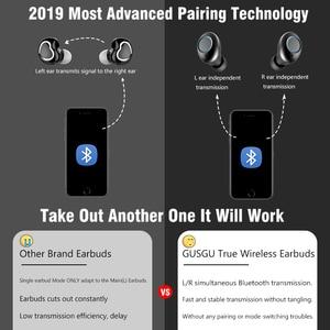 Image 3 - Bluetooth V5.0 אוזניות אלחוטי אוזניות 6D סטריאו ספורט אלחוטי אוזניות אוזניות אוזניות 4000 mAh כוח עבור iPhone Xiaomi