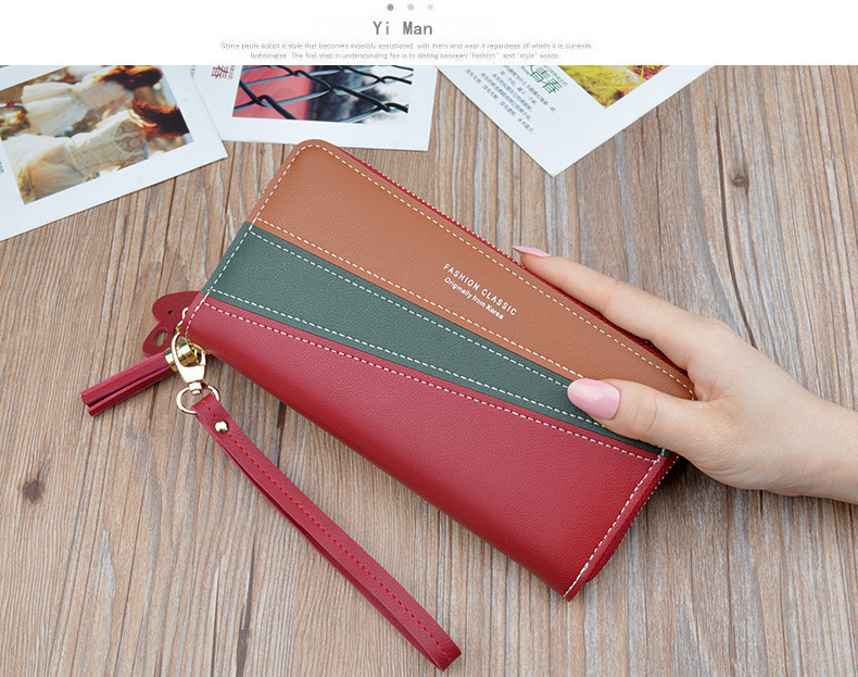 H87fe3407e58842139b0c8a9fabcdee003 - Female Wallet  | Red/black/pink/blue