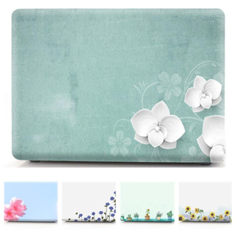 For Macbook Pro 13 Case Floral Transparent Cover For Mac Book 13.3 Inch A1278 A1502 A1989 A2159,for Macbook Pro 13 Case A1708