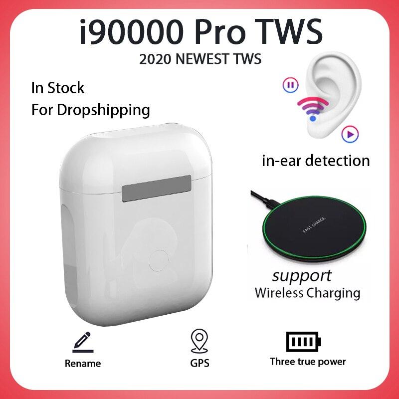 Оригинальные I90000 Pro TWS Blutooth наушники Мини Беспроводная гарнитура наушники Elari PK I500 I1000 I9000 I90000 Tws наушники tws