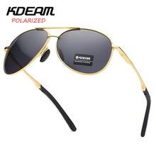 KDEAM Top Brand Pilot Sunglasses Women D