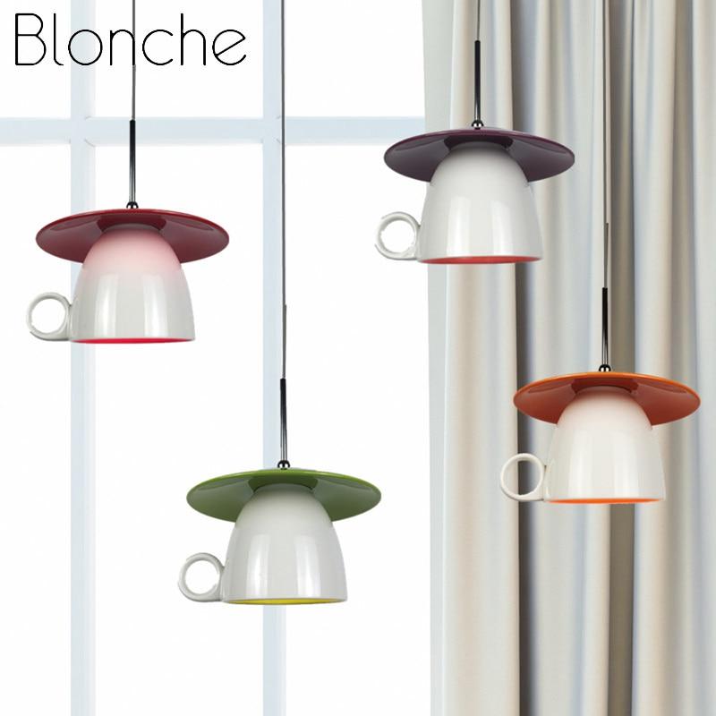 Modern Ceramics Pendant Lights Nordic Kitchen Hanging Lamp Dinning Cafe LED Light Fixtures Living Room Study Attic Home Decorate|Pendant Lights| |  - title=