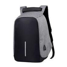 盗難防止バッグ男性のラップトップリュックサック旅行のバックパック女性の大容量ビジネス USB 充電大学生スクールショルダーバッグ