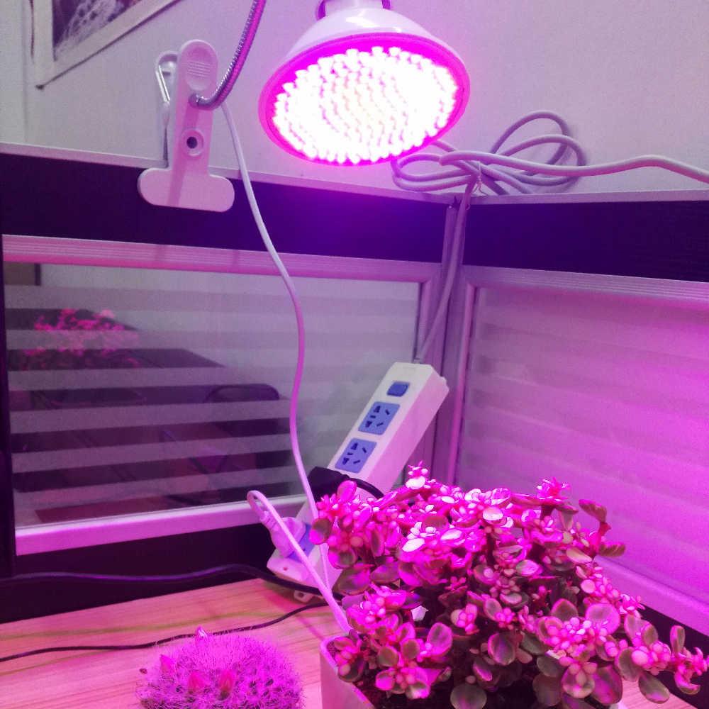 E27 85-265 v 6 w 15 w 20 w led cresce a luz interior crescente espectro completo de luz para plantas hidroponia flores vegetais crescer