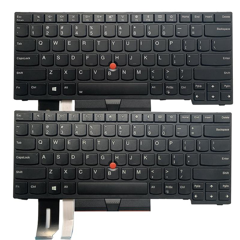 NEW US Laptop Keyboard FOR Lenovo ThinkPad E480 E485 L480 T480S L380 L490 Yoga US Keyboard 01YP400 01YP440