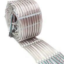 Placa pré-soldada do dissipador de calor do diodo emissor de luz ws2812b 5050 rgb incorporado ws2811 ic dc5v individualmente endereçável corda do módulo do diodo emissor de luz ip30 50-500