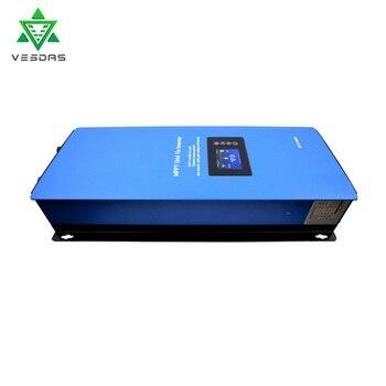 2000W Battery Discharge Power Mode/MPPT Solar Grid Tie Inverter with Limiter Sensor DC 45-90V AC 220V 230V 240V PV connected 3