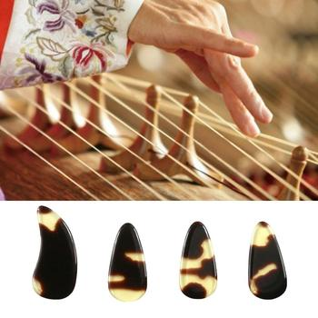 Chinese Zither Guzheng Practice Professional Artificial Faux Fingernails Tips long-time Chinese Zither practicing, creates clear image