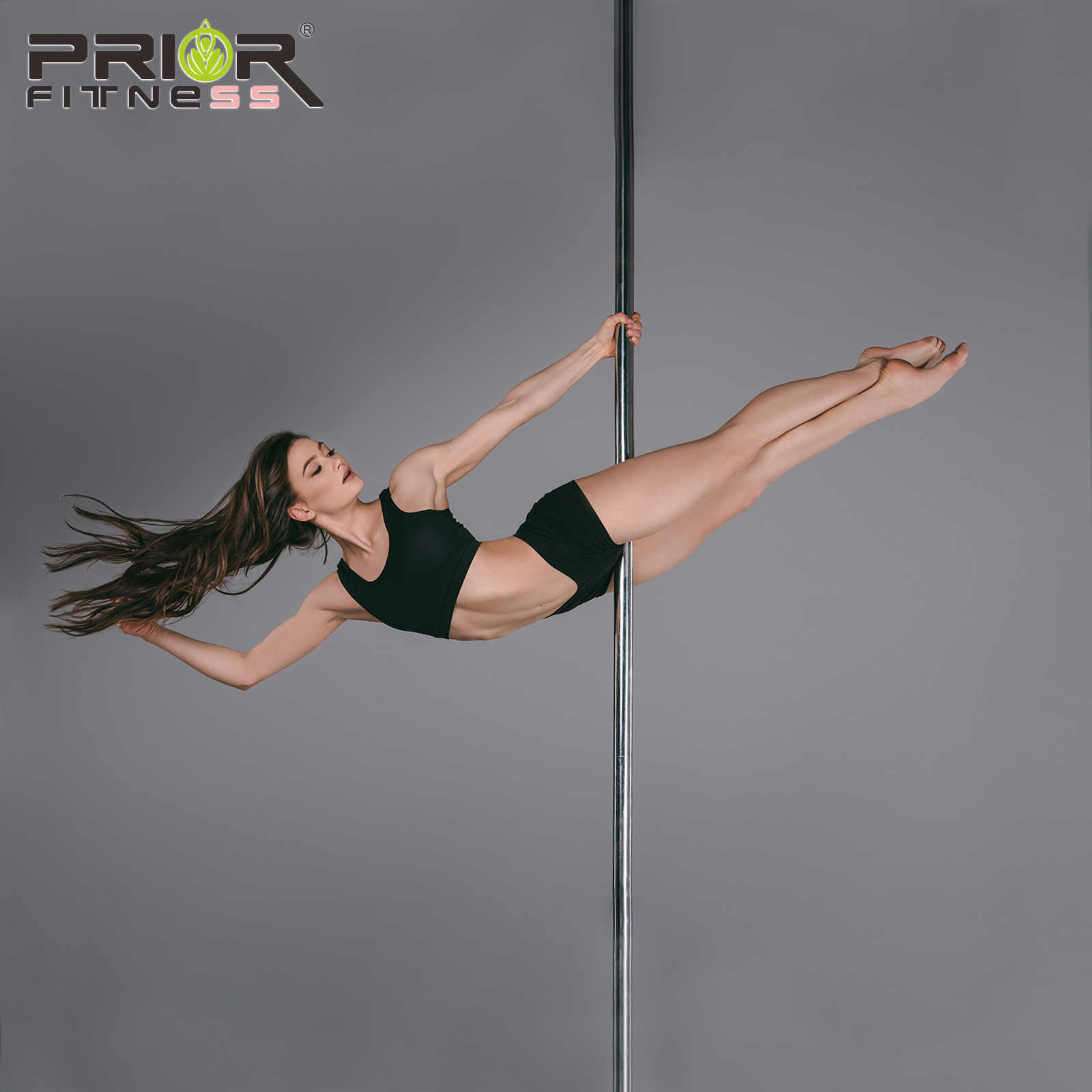 Professional Pole Dance Golden 360 Stripper Spin Removable Home Fitness Exercise