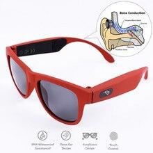 Bone Conduction Bluetooth Smart Sport Sunglasses Wireless St