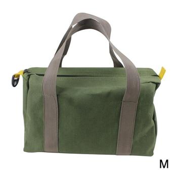 Wear Resistant With Handle Handbag Storage High Capacity Multi-function Waterproof Canvas Hardware Tool Bag Pliers Case Portable