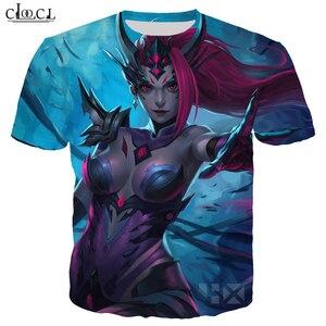 Image 5 - CLOOCL Popular Game T Shirt Men/Women 3D Print T Shirts Casual Style Hero Skin T shirt Sweatshirt Tops T323