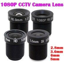 1/2.7-Camera-Lens Aperture Security M12 1080P 2MP HD Image-Format 6/8mm