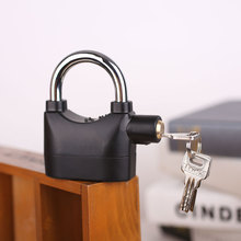 Велосипедная Сигнализация велосипед Велоспорт безопасность Противоугонный замок с сиреной с ключами