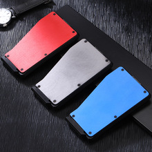 Creative Aluminum Alloy box, Credit Card And ID Card Anti-Magnetic Box Pops Up Automatically, Convenient Wallet Card Holder