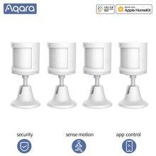 Aqara תנועה חיישן חכם אנושי גוף חיישן ZigBee תנועת תנועה אלחוטי חיבור חכם בית לxiaomi Mihome Aqara App
