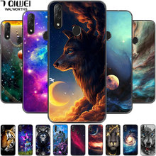 Für Huawei Honor 8X Max Fall Silikon Weiche Wolf Lion Telefon Abdeckung für Huawei Ehre 8X 8C Fall Schwarz TPU stoßstange Honor8X 8 X
