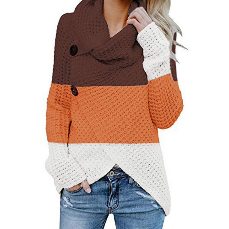 Women Knitted Pullover Sweater Long Sleeve Turtleneck Solid Girl Pullovers  Jumper Winter Women Clothing Sweaters Fashion 2019