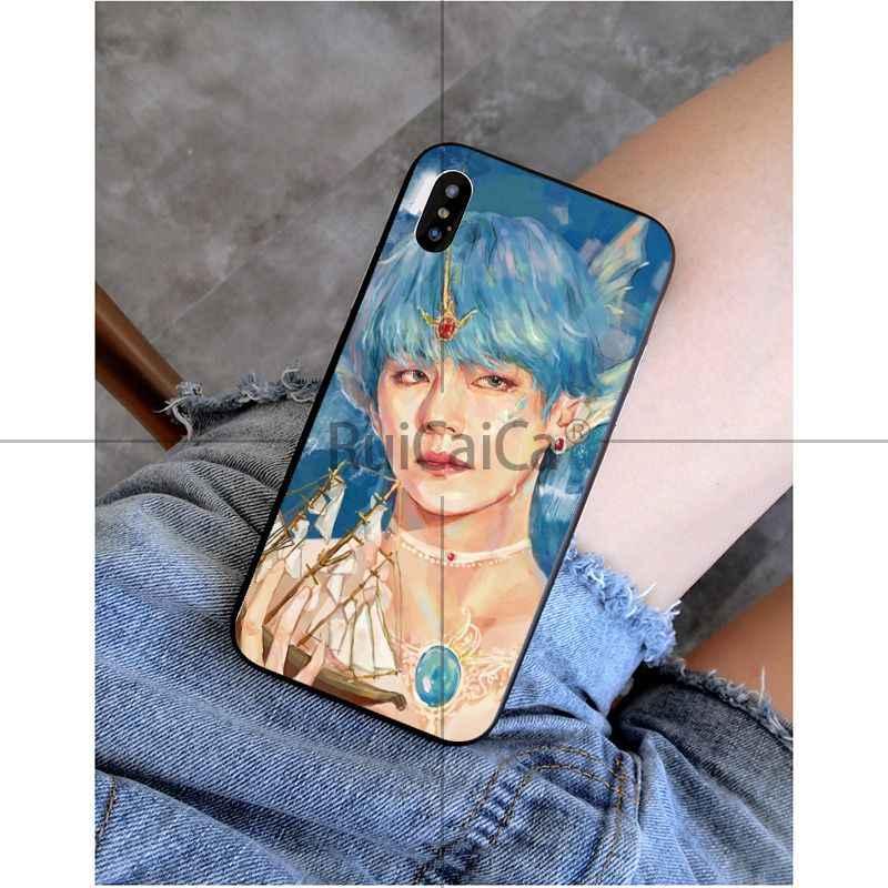 Ruicaica Корея kopo Jin SUGA j-hope RM Jimin V Jung Kook Coque Shell чехол для iPhone X XS MAX 6 6S 7 7plus 8 8Plus 5 5S XR