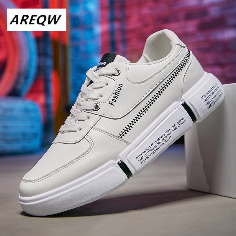 New Men Casual Shoes Breathable Autumn Brand Lace-up Flat Male Sneakers Lightweight Adults Fashion Trend Cheap Drop Shipping