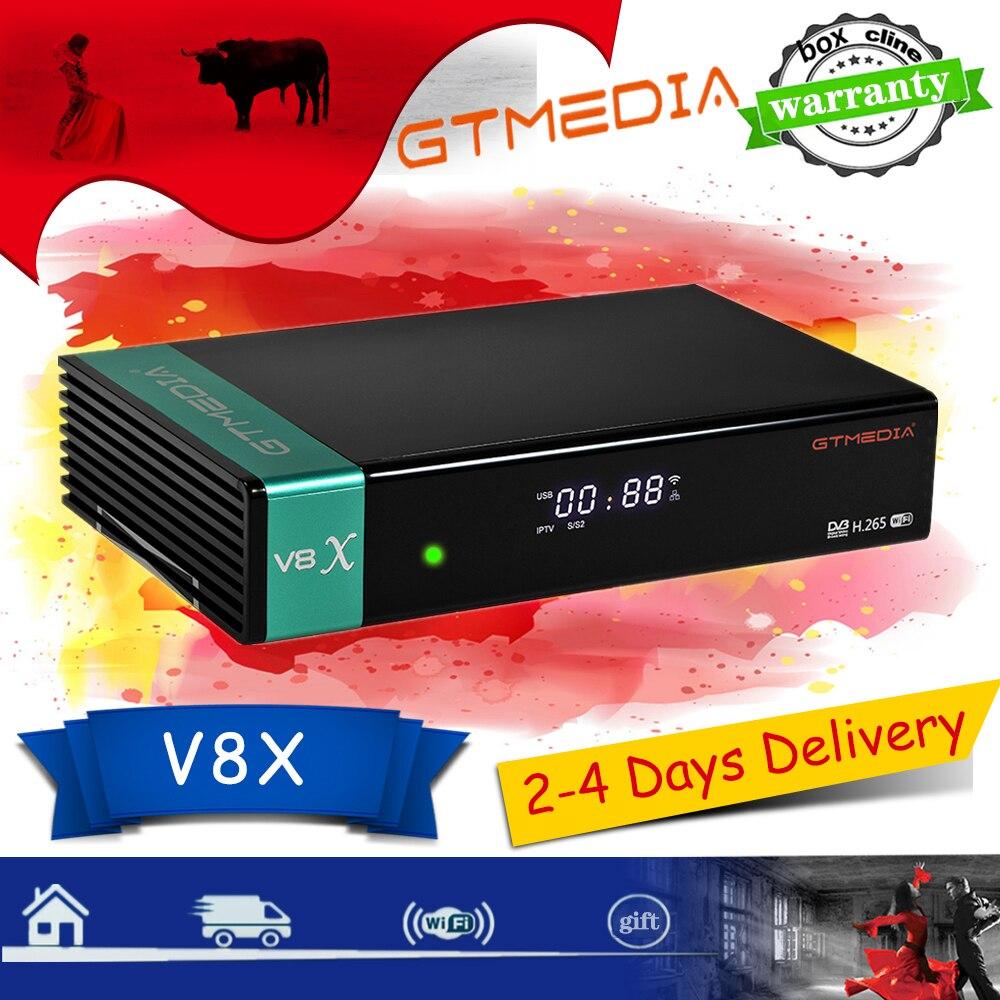 Beste 1080P DVB-S2 GTmedia V8 Nova/Honor Satellite Empfänger gebaut-in wifi Volle HD GTmedia V8x Aktualisiert freesat V9 Super