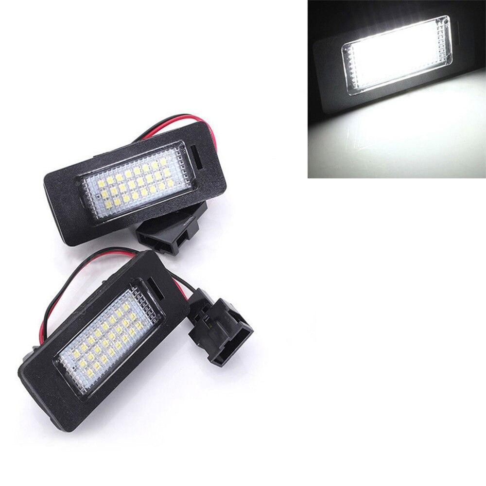12V LED No Error Canbus Car License Plate Light For Audi A1 S1 8X A4 S4 B8 A5 S5 8T A6 S6 RS6 C7 A7 S7 C7 TT 8J Q5 8R RS5 Lamp