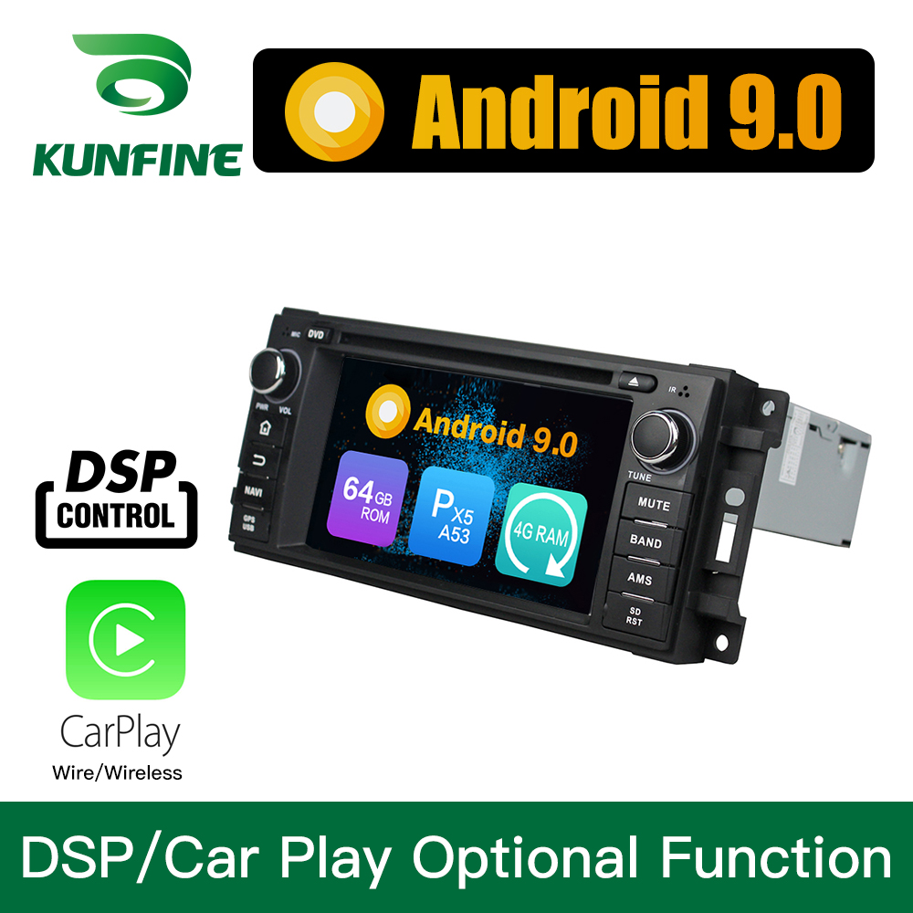 Android 9.0 Octa Core 4GB RAM 64GB ROM Car DVD GPS Multimedia Player Car Stereo for Jeep Sebring 300C <font><b>Grand</b></font> <font><b>Cherokee</b></font> Compass image