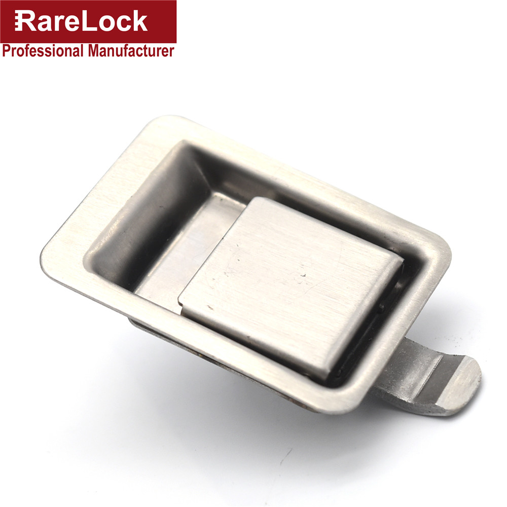 Rarelock Truck Cabinet Door Lock Stainless Steel Pickup Accessories Bus Truck Handle Lock MMS220 Dd