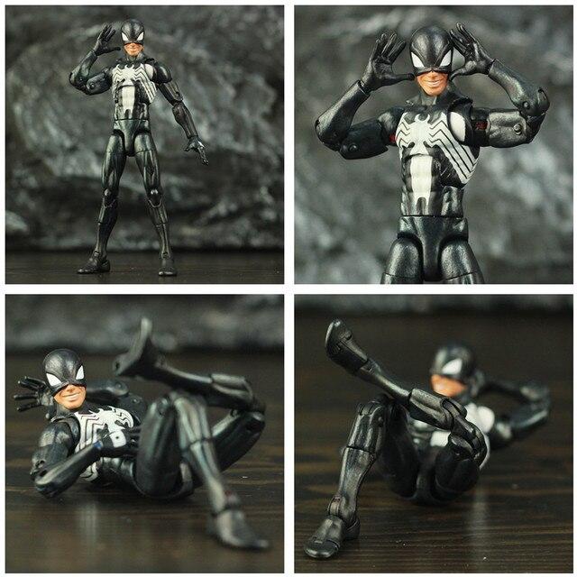 Black Spider Man Symbiote Action Figure 6Inch 6