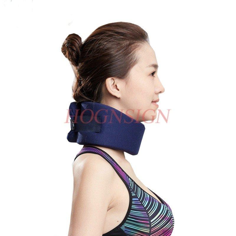 pescoço torsão pescoço respirável homem e mulher