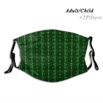Motherboard Print Reusable Pm2.5 Filter Diy Mouth Mask Kids Motherboard Mother Board I T Technology Computers Tech Nerd image