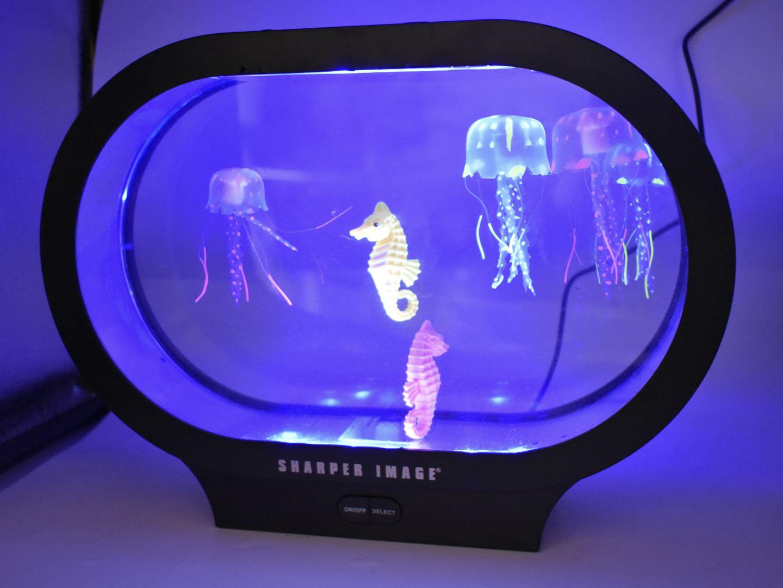sunflowerany Quallen Lampe Lavalampe Aquarium Lampe LED Farbwechsellampe Quallen Aquarium Stimmungslampe Lava Nachtlicht F/ür Kinder Schlafzimmer Weihnachten Geburtstagsgeschenk Homeoffice