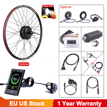 Bafang 36v 250w kit de conversão da bicicleta elétrica da roda do motor ebike 20/26/27.5/700c polegadas 250w motor sem escova do cubo traseiro da engrenagem da bicicleta