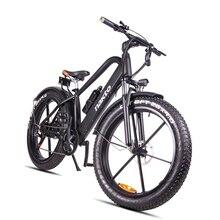 купить Mountain Bicycle Hybrid Pas Off-road Ebike 26inch Fat E-bike 48V500W Electric  Hidden Lithium Battery Electric Snow Bicycle по цене 85953.64 рублей