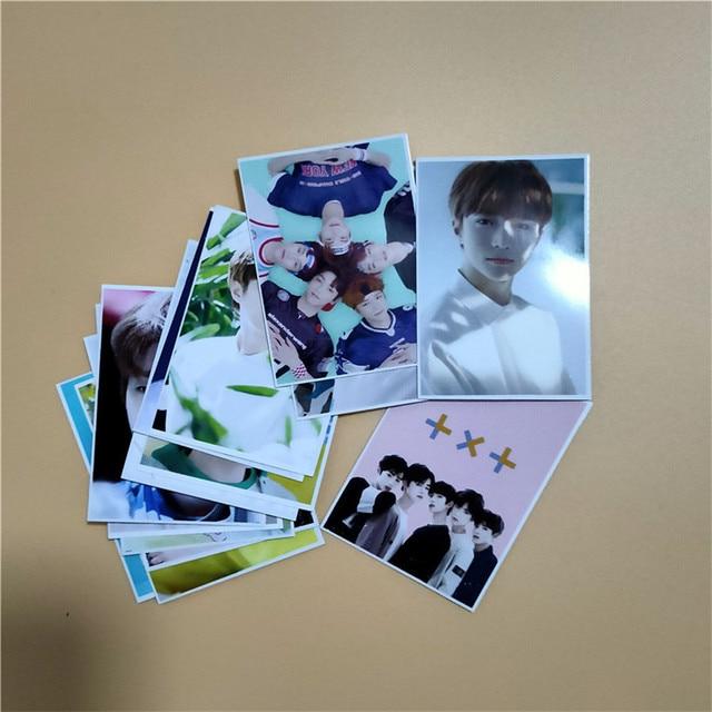 16pcs/set Kpop TXT Fanmade Photocards 5