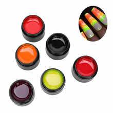 6 штук в упаковке профессиональная световой УФ гель для дизайна
