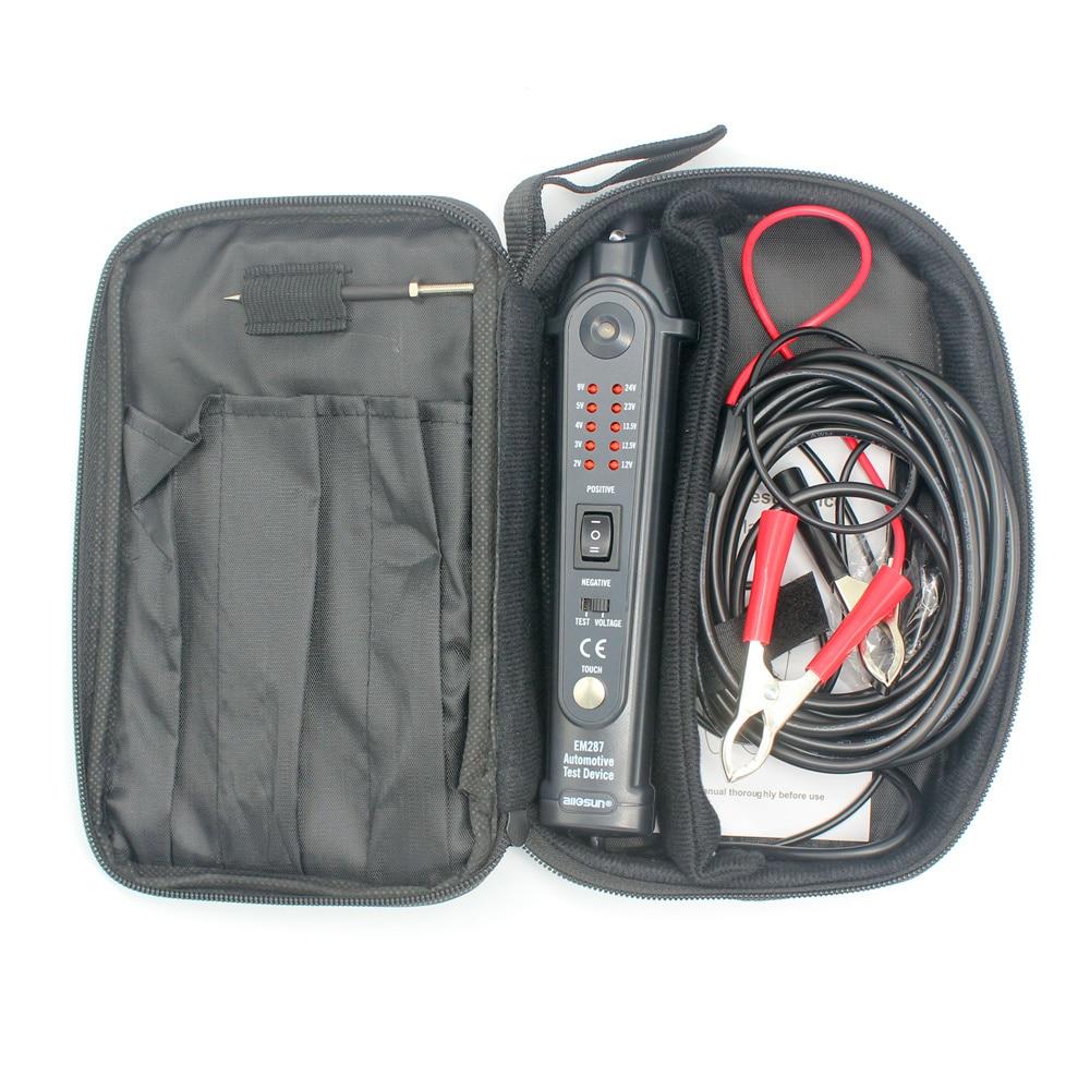 EM287 Automotive Circuit Breaker Meter Test Device Car Diagnostic Tool Electrical Tester