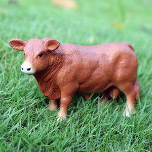 Image 5 - Oenux Farm Animals Cow Simulation Cattle Calf Bull OX Model Action Figures Wild Buffalo Figurines PVC Education Toy For Kid Gift