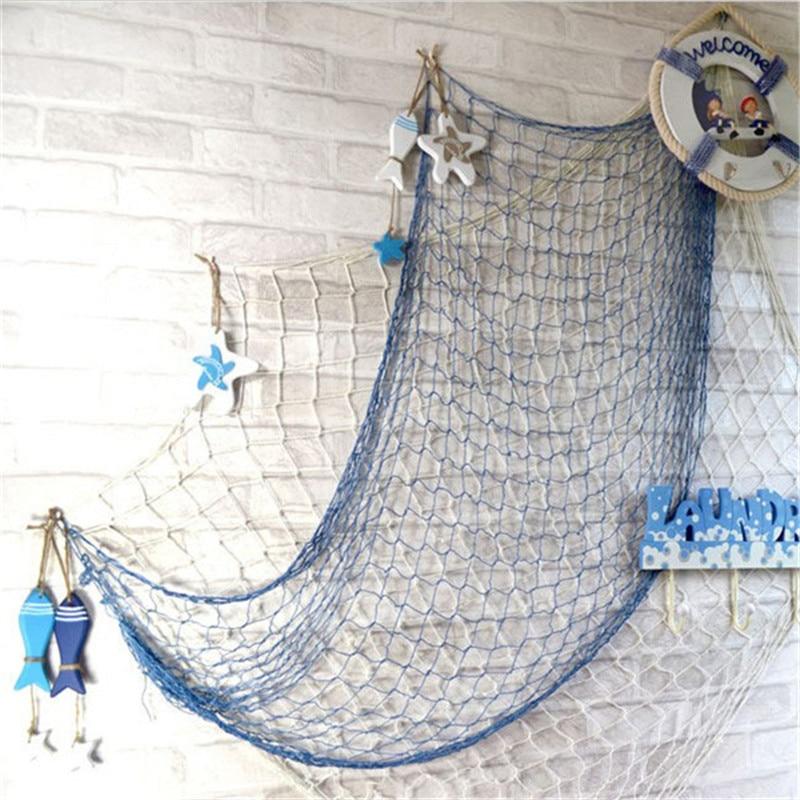 2020 New Mediterranean Starfish Fish Nautical Decor Hang Small Adorn Crafts Wood Fish/decorated Marine Pendant Home Decoration