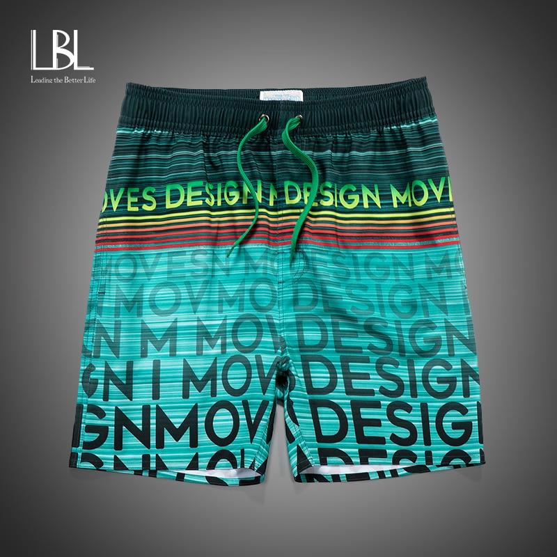 Brand New Summer Men Gradient Laser Shorts Men Elastic Beach Sport Pants Shorts Pocket Masculina Shorts Homme 2020 Men Clothing