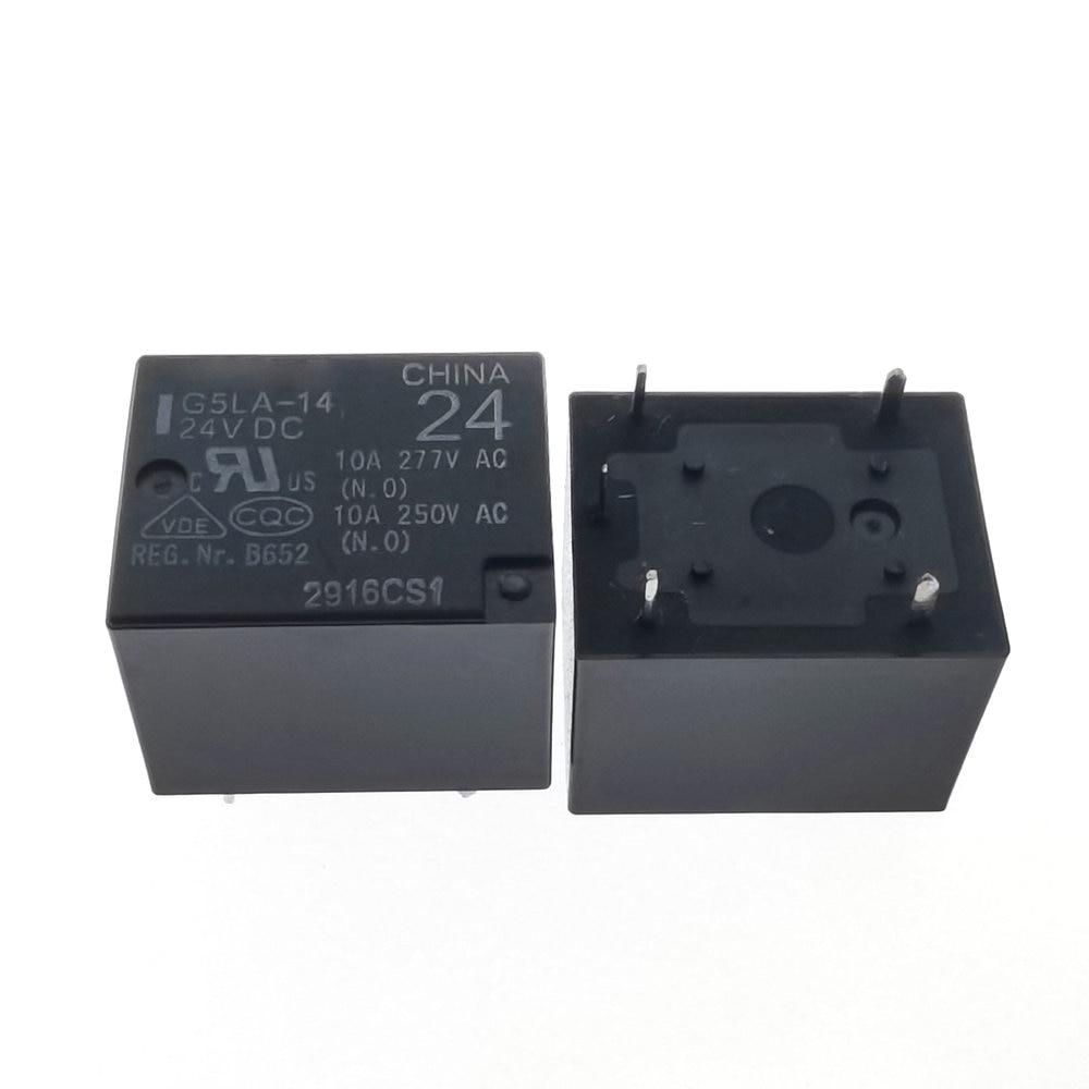 10PCS G5LE-14-24VDC G5LE-14-DC24V ORIGINAL OMRON