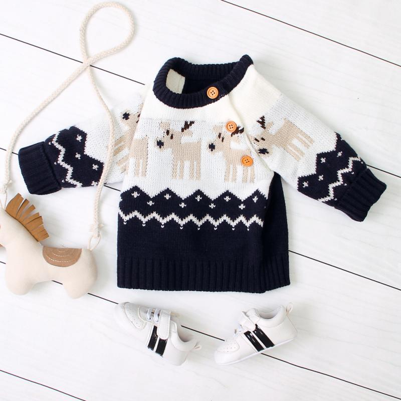 Fall Winter 6-12M Baby Clothes Soft Warm Sweaters Baby Girls Clothes Knitted Pullover Jumpers Outfits Sweater New 2020