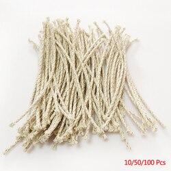 10/50/100 pcs drut miedziany lżejszy rdzeń bawełniany zapalniczka naftowa akcesoria wymiana zapalniczka benzynowa podpalaczka na zippo