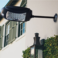 Уличный светильник на 32 светодиодах с солнечной панелью  водонепроницаемый уличный садовый светильник с защитой от движения  светодиодный ...